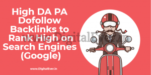 High PR DA PA Dofollow Backlinks Instant Approval 2020